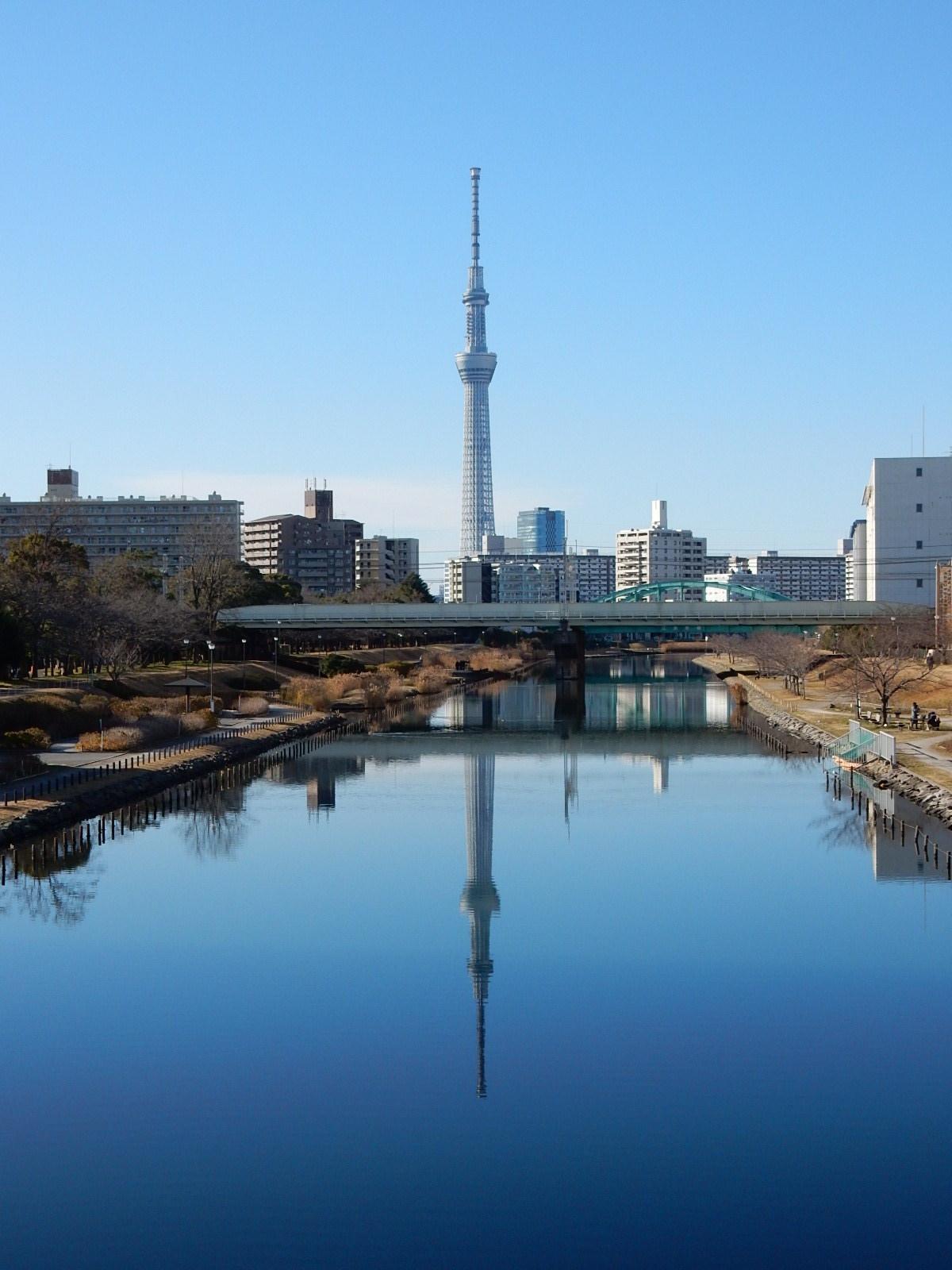 元日の東京スカイツリー