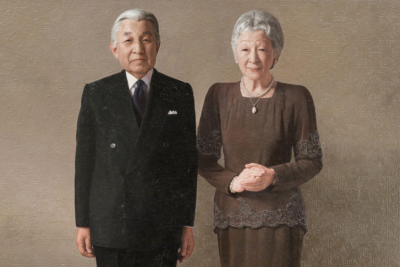 天皇陛下と皇后陛下の肖像画