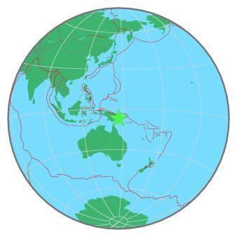 Earthquake - Magnitude 7.2 - EASTERN NEW GUINEA REG., P.N.G. - 2019 May 06, 21:19:36 UTC