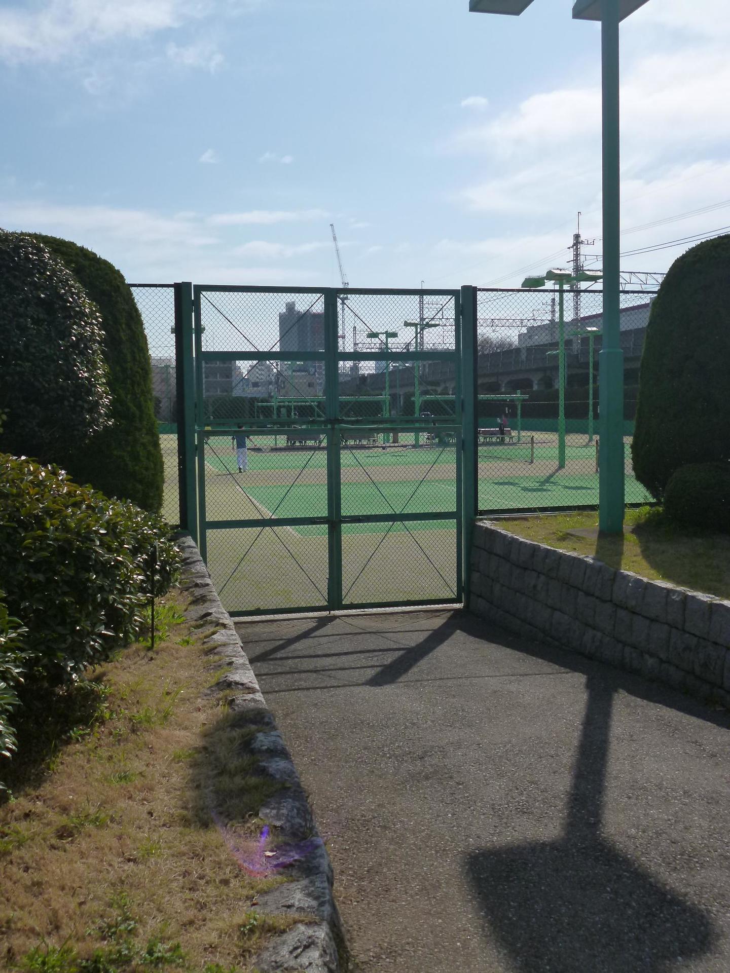 亀戸中央公園C地区のテニスコート