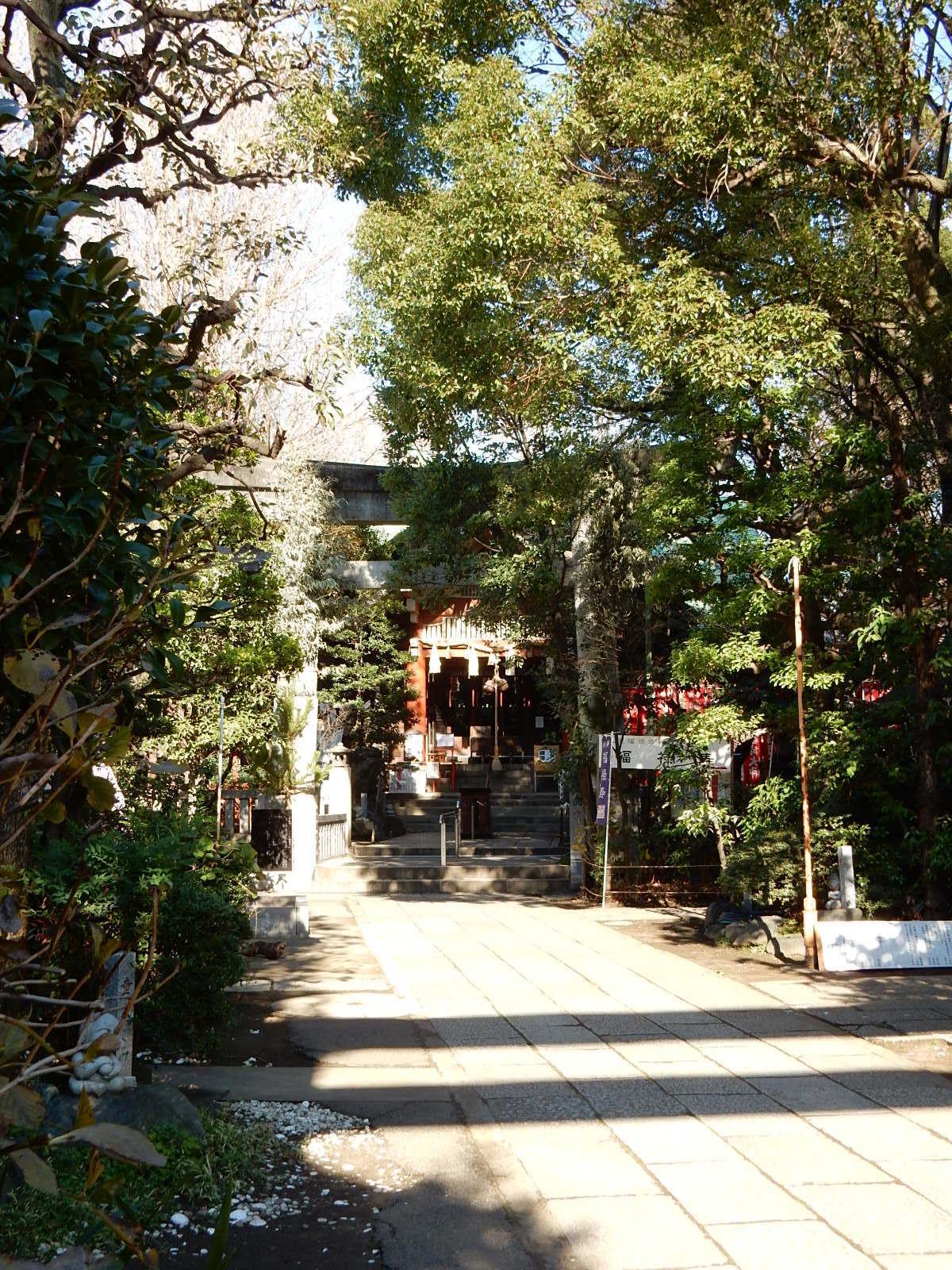 天祖神社全景