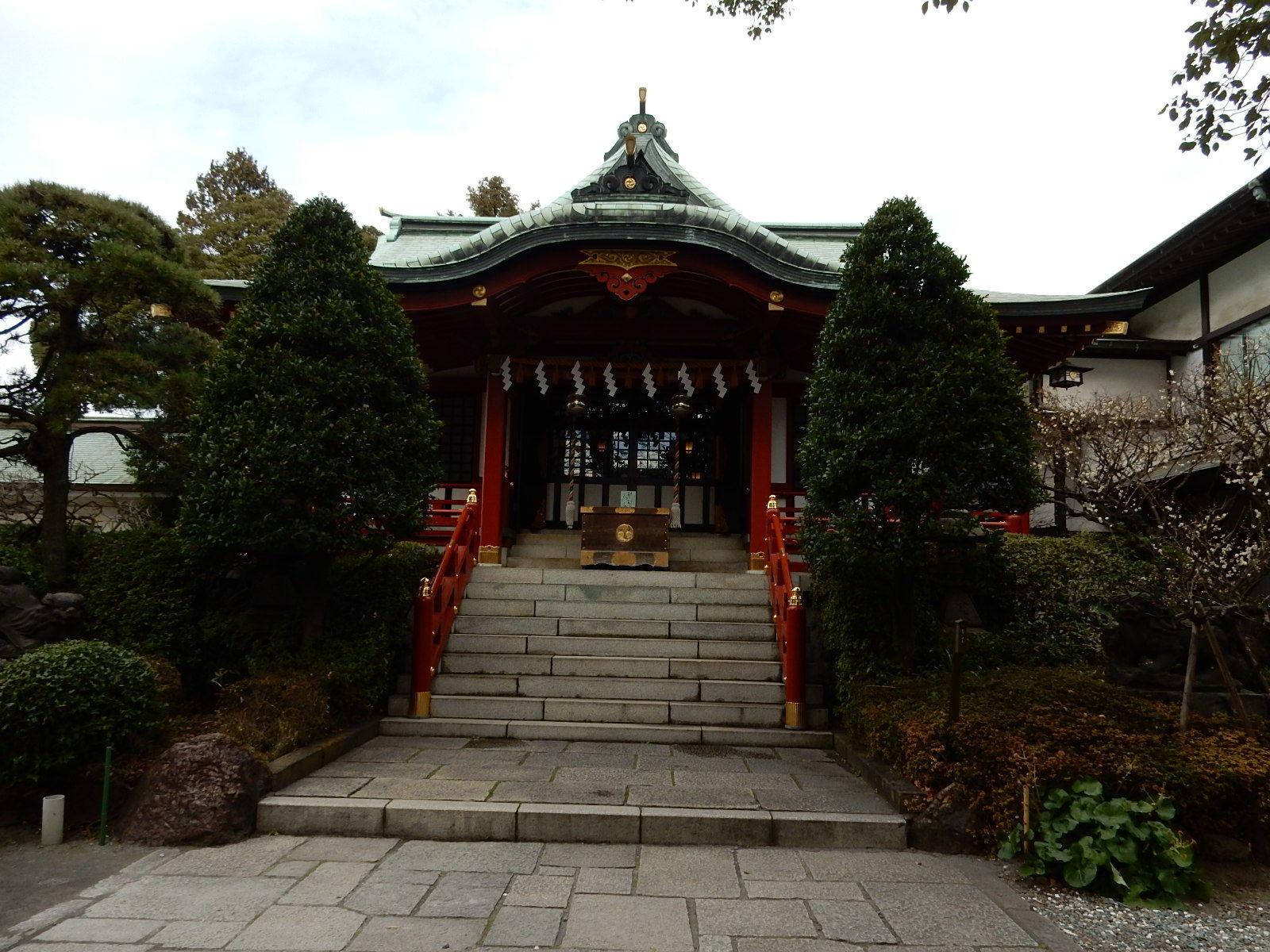 東大島神社社殿