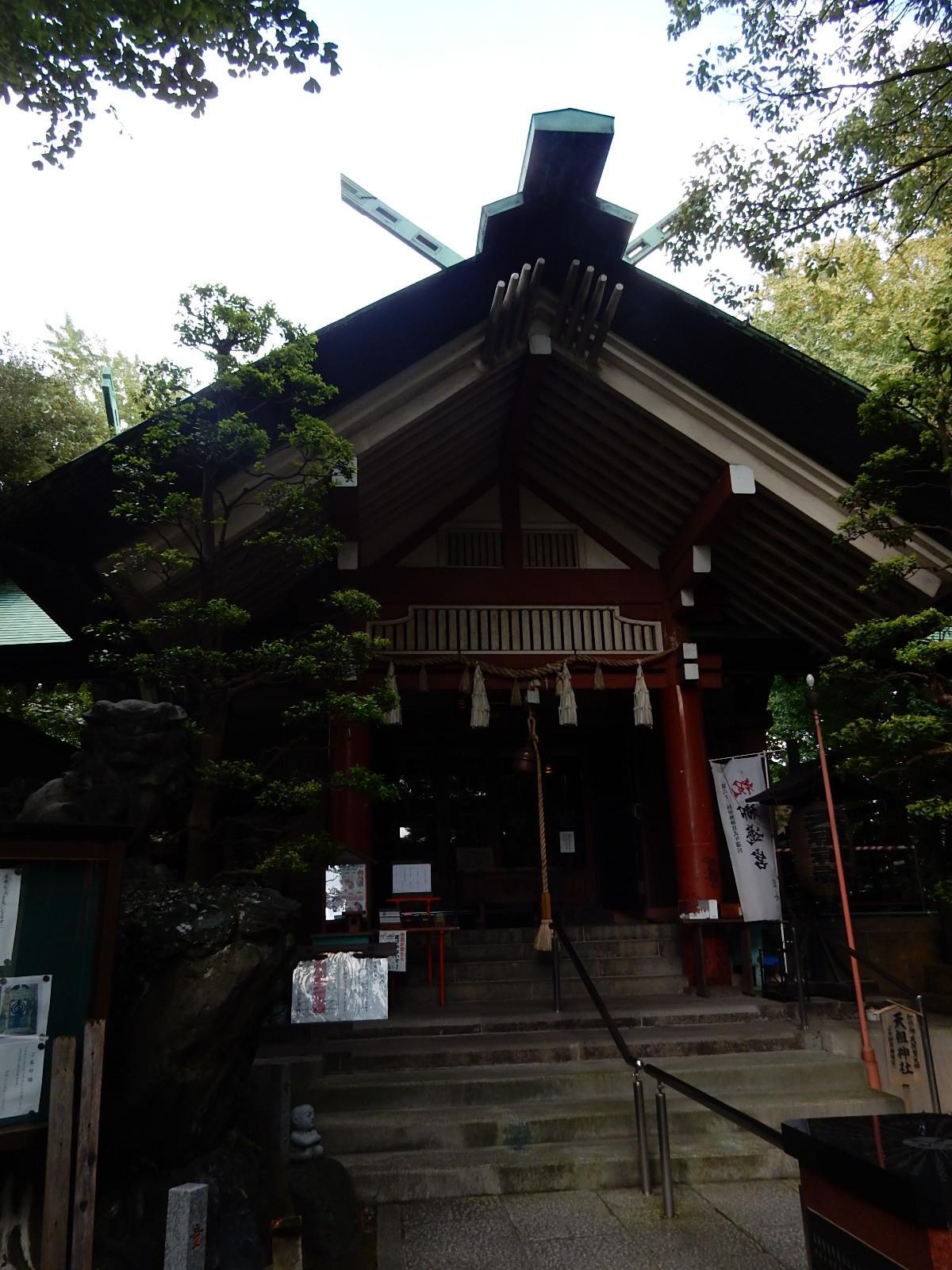 天祖神社の本殿