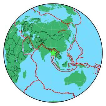 Earthquake - Magnitude 6.8 - MYANMAR - 2016 August 24, 10:34:54 UTC