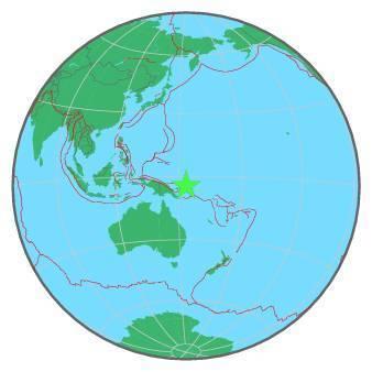 Earthquake - Magnitude 8.0 - NEW IRELAND REGION, P.N.G. - 2016 December 17, 10:51:11 UTC