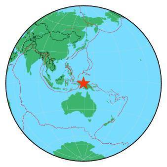 Earthquake - Magnitude 6.1 - PAPUA, INDONESIA - 2019 June 24, 01:05:29 UTC