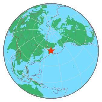 Earthquake - Magnitude 6.4 - KOMANDORSKIYE OSTROVA REGION - 2019 June 26, 02:18:07 UTC