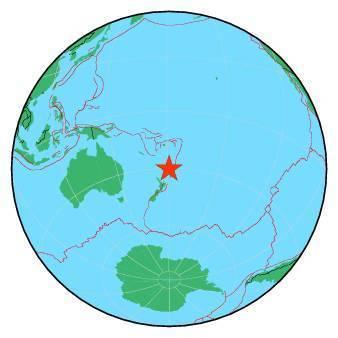 Earthquake - Magnitude 6.3 - KERMADEC ISLANDS REGION - 2019 June 27, 11:04:56 UTC