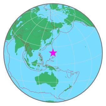 Earthquake - Magnitude 6.4 - MAUG ISLANDS REG, N. MARIANA IS. - 2019 June 28, 15:51:33 UTC
