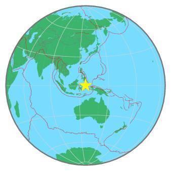 Earthquake - Magnitude 6.8 - MOLUCCA SEA - 2019 July 07, 15:08:43 UTC