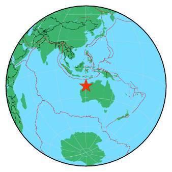 Earthquake - Magnitude 6.7 - WESTERN AUSTRALIA - 2019 July 14, 05:39:23 UTC