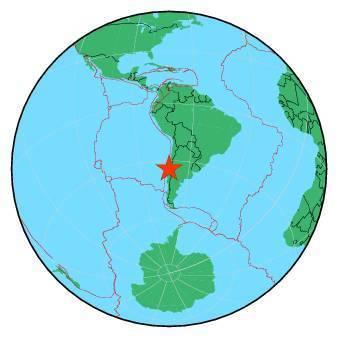 Earthquake - Magnitude 6.8 - OFFSHORE O'HIGGINS, CHILE - 2019 August 01, 18:28:06 UTC