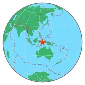 Earthquake - Magnitude 6.4 - SERAM, INDONESIA - 2019 September 25, 23:46:47 UTC