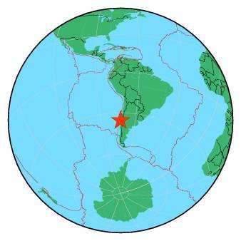 Earthquake - Magnitude 6.6 - OFFSHORE MAULE, CHILE - 2019 September 29, 15:57:56 UTC