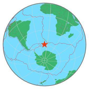 Earthquake - Magnitude 6.3 - EAST OF SOUTH SANDWICH ISLANDS - 2019 November 05, 20:52:01 UTC