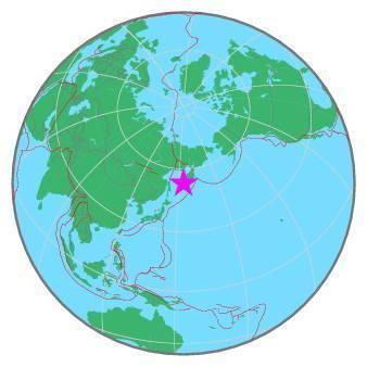 Earthquake - Magnitude 6.3 - SEA OF OKHOTSK - 2019 November 20, 08:26:06 UTC