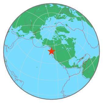 Earthquake - Magnitude 6.3 - VANCOUVER ISLAND, CANADA REGION - 2019 December 25, 03:36:02 UTC