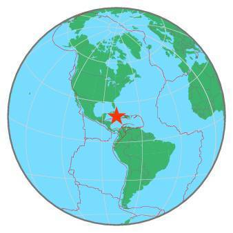 Earthquake - Magnitude 7.7 - CUBA REGION - 2020 January 28, 19:10:26 UTC