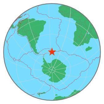 Earthquake - Magnitude 6.1 - SOUTH SANDWICH ISLANDS REGION - 2020 February 08, 14:32:58 UTC