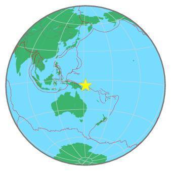 Earthquake - Magnitude 6.2 - NEW BRITAIN REGION, P.N.G. - 2020 February 09, 06:04:32 UTC