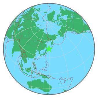 Earthquake - Magnitude 7.0 - KURIL ISLANDS - 2020 February 13, 10:33:46 UTC