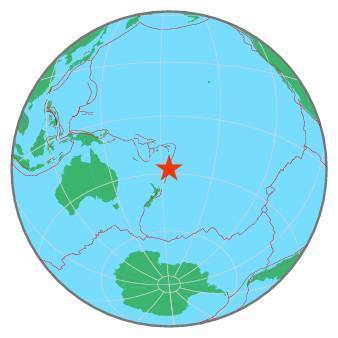 Earthquake - Magnitude 6.3 - KERMADEC ISLANDS REGION - 2020 March 14, 10:01:16 UTC
