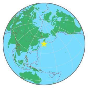 Earthquake - Magnitude 7.6 - EAST OF KURIL ISLANDS - 2020 March 25, 02:49:20 UTC