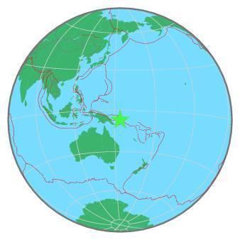 Earthquake - Magnitude 6.3 - NEW BRITAIN REGION, P.N.G. - 2020 April 25, 02:53:16 UTC