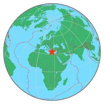 Earthquake - Magnitude 6.5 - CRETE, GREECE - 2020 May 02, 12:51:04 UTC