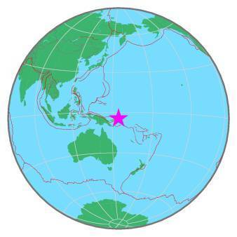 Earthquake - Magnitude 6.1 - BOUGAINVILLE REGION, P.N.G. - 2020 May 07, 11:21:20 UTC