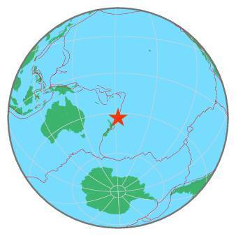 Earthquake - Magnitude 7.3 - SOUTH OF KERMADEC ISLANDS - 2020 June 18, 12:49:54 UTC