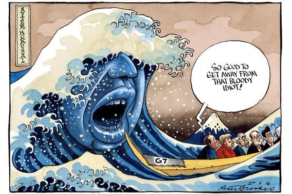 問題のイギリスの風刺画